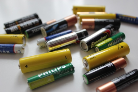 вред батареек